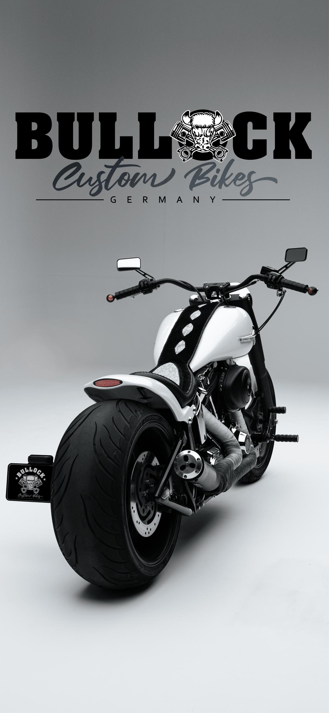 Bullock Custom Bikes Harley Davidson Slim